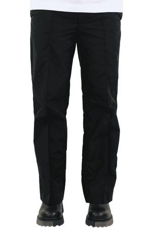 AMBUSH Nylon track pants jet black