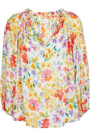 Velvet Dames Blouses - Tyra floral blouse