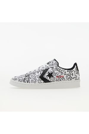 Converse X Keith Haring Pro Leather OX White/ Black/ Red