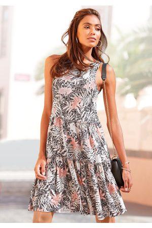 Buffalo Dames Geprinte jurken - Jerseyjurk met print all-over
