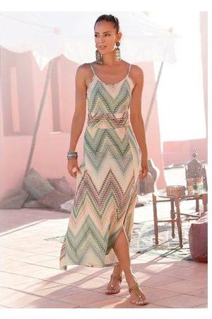 Lascana Dames Geprinte jurken - Midi-jurk met zomerse print
