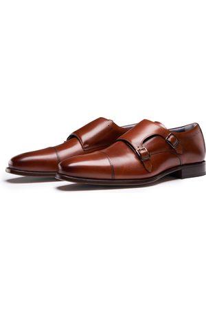 PERLIE Heren Klassieke schoenen - Comfortabele Gespschoenen
