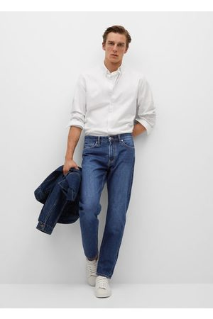 1 Donkere Bob straight-fit jeans
