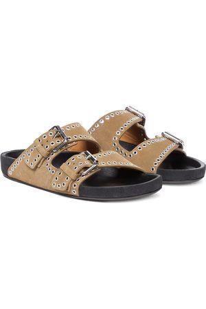 Isabel Marant Lennyo embellished leather sandals