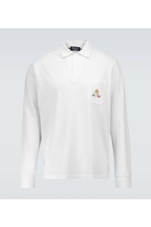 Loro Piana Horsey open polo shirt