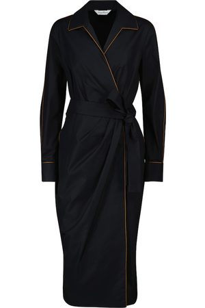 Max Mara Amadeus wrap midi dress