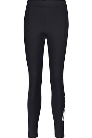 Stella McCartney High-rise scuba leggings