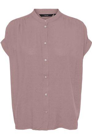 VERO MODA Dames Blouses - Korte Mouwen Overhemd Dames