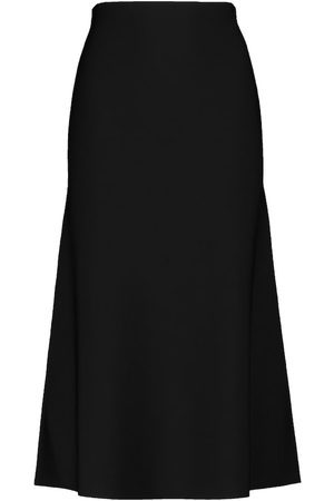 GALVAN Dames Midi rokken - Cora knit midi skirt