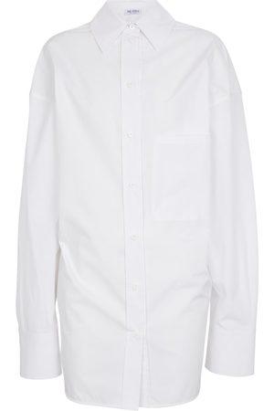 The Attico Oversized cotton shirt