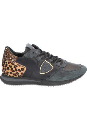 Philippe Model Dames Sneakers - TRPX Low Women Mixage Noir Beige