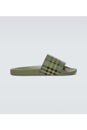 Burberry Furley Vintage checked slides