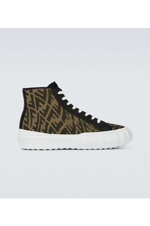 Fendi FF Vertigo high-top sneakers