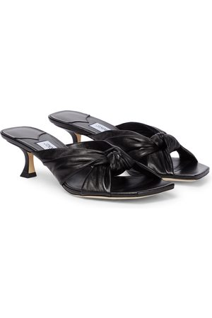 Jimmy Choo Avenue 50 leather sandals