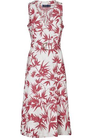 Polo Ralph Lauren Floral linen maxi dress