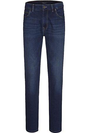 Heren Pantalons - 5 Pocket Katoen BATU-2 71001 DONKER