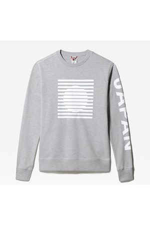 The North Face The North Face International Collection-sweater Voor Heren Tnf Light Grey Heather Größe L Heren