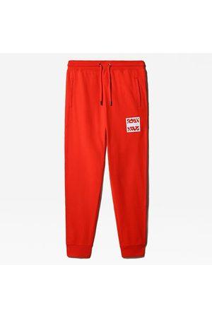 The North Face The North Face International Collection-joggingbroek Voor Heren Fiery Red Größe L Normaal Heren