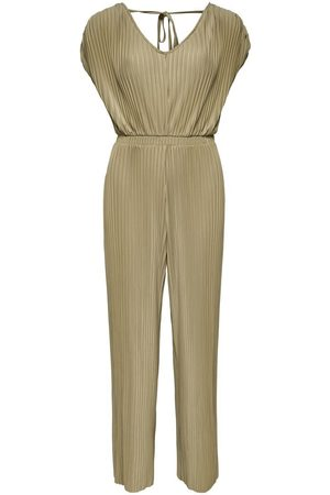 ONLY Geplooid Jumpsuit Dames Green