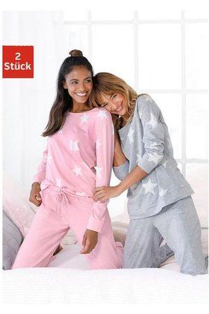 ARIZONA Pyjama (set van 2) in een gemêleerde look