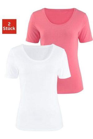 vivance collection Dames Shirts - T-shirt (set van 2)