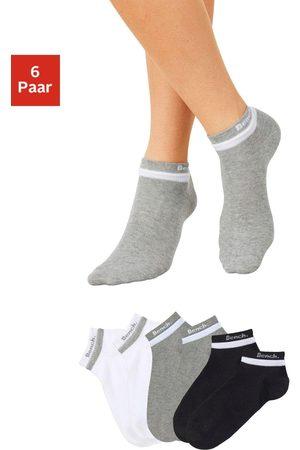 Bench Bench korte sokken (6 paar) met dubbel verwerkte boord
