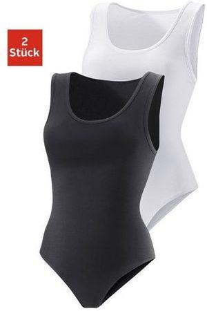vivance collection Active hemd-body (set van 2), katoen-stretch