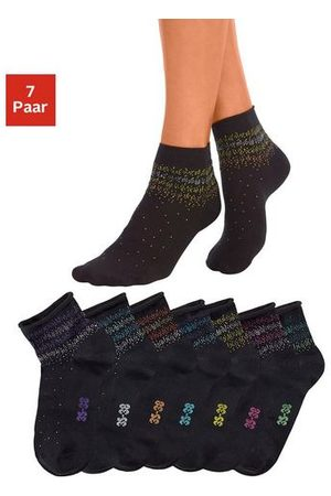 H.I.S Dames Panty's & Maillots - Korte sokken (7 paar)