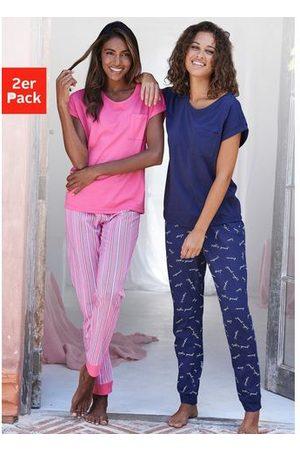 VIVANCE DREAMS Dames Pyjama's - Vivance collection pyjama (Set van 2)