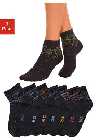 H.I.S Dames Sokken & Kousen - Korte sokken (7 paar)