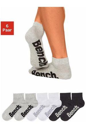 Bench Bench korte sokken (6 paar) met comfortabele ribboorden
