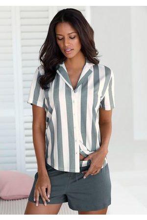 vivance collection Vivance Dreams shortama in overhemd-look