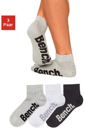 Bench Heren Ondergoed - Klassieke korte heren-sokken (3 paar), BENCH, mêleekwaliteit, met prettige ribboord