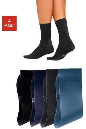 H.I.S Basic sokken (set van 4 paar) met een hoog percentage katoen