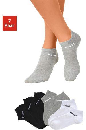 CHIEMSEE Dames Sokken & Kousen - Sneakersokken (7 paar) met ingebreid logo