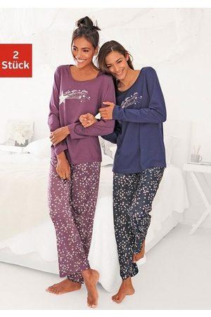 VIVANCE DREAMS Pyjama met sterrenprint (Set van 2)