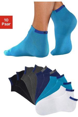 H.I.S Korte sokken (set van 10 paar) met verstevigde drukzones