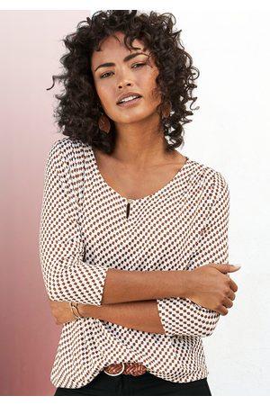 vivance collection Shirt met 3/4-mouwen