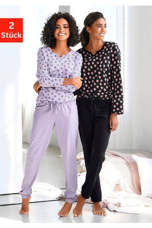vivance collection Vivance Dreams pyjama (set van 2, 4-delig)