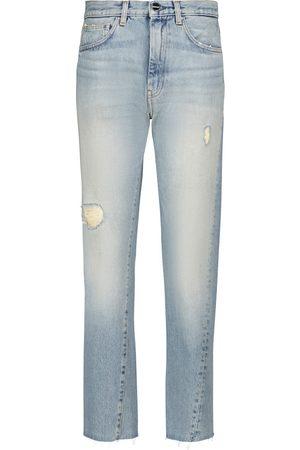Totême Mid-rise straight jeans