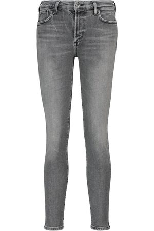 AGOLDE Sophie mid-rise skinny jeans