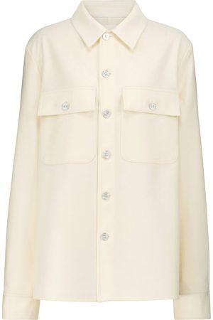 Jil Sander Wool-blend shirt