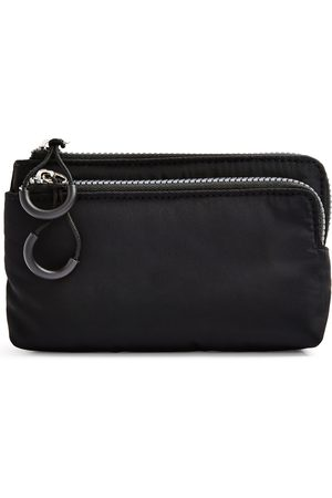 Primark Zwarte nylon portemonnee met twee vakken