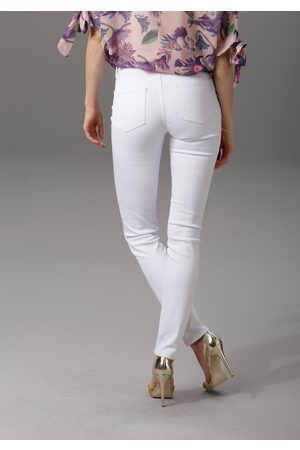 Aniston CASUAL Dames Slim - Slim fit jeans