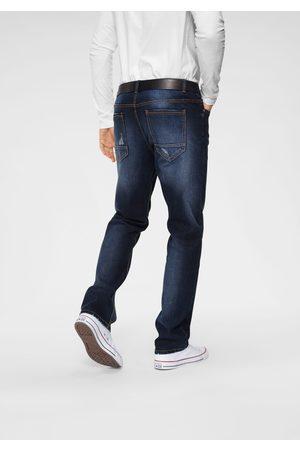 John Devin Straight jeans met elastan