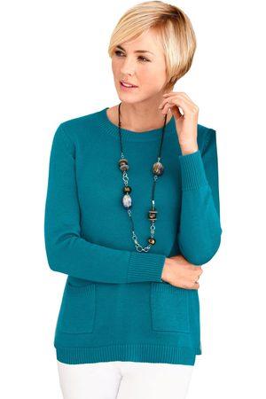 Casual Looks Dames Pullovers - Trui met opgestikte zakken