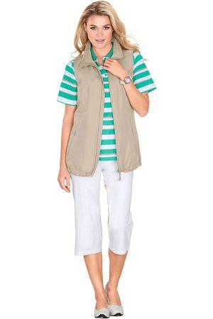 Lady capri-vrijetijdsbroek met elastiek en koord