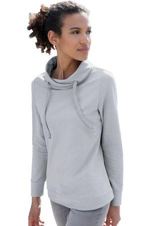 Classic Basics Dames Sweaters - Casual Looks sweatshirt met asymmetrische kraag
