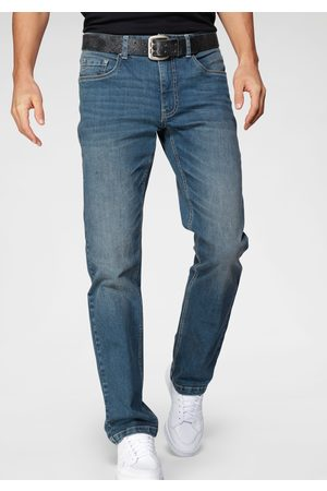 john devin Heren Straight - Straight Fit-jeans in used-wassing
