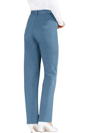Lady Dames Jeans - Jeans met glinstersteentjes
